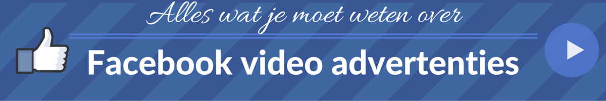Facebook Video Advertenties Header