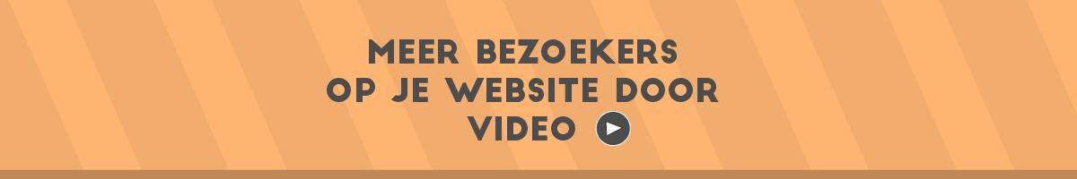 Meer Bezoekers Website Header