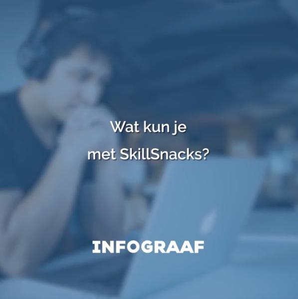 Wat kun je met SkillSnacks